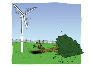 Feedback: Are wind turbines really fans?