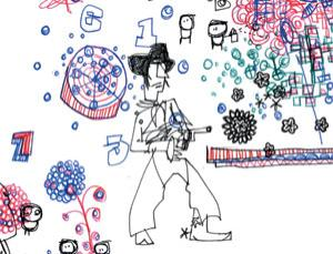 Superdoodles: The science of scribbling