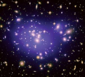 Clusters like this are a dime a dozen - which is one reason why the rare trio in the void is so valuable for study