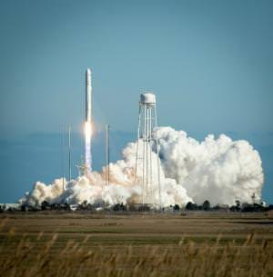 Antares lifts off
