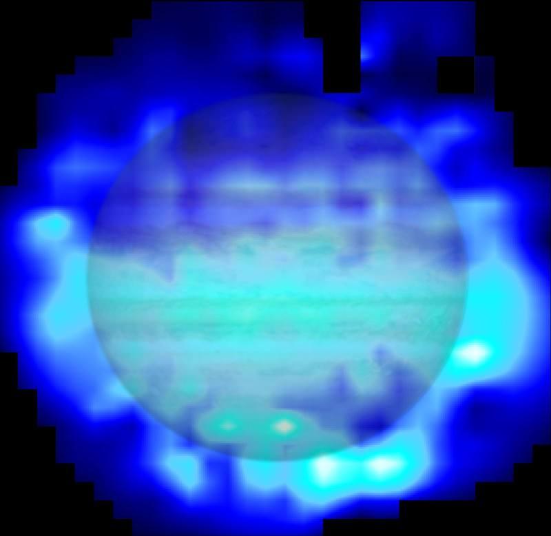 Jupiter got a soaking from comet Shoemaker-Levy 9
