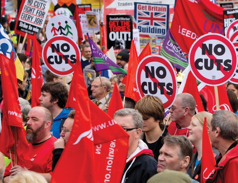Jobs and services are not the only victims of cuts. There are insidious health effects too