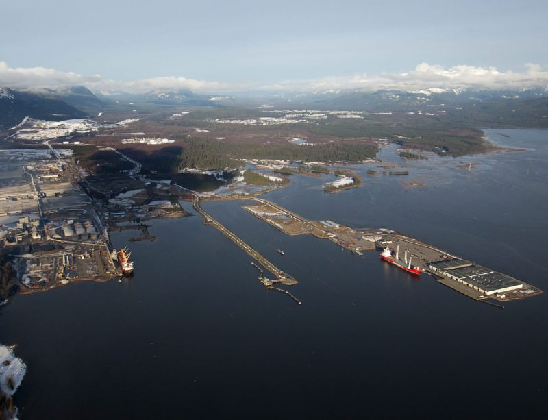 THe Keystone pipeline would carry tar-sands oil to the coast of British Columbia, Canada