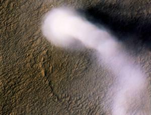 Mars is a dusty devil
