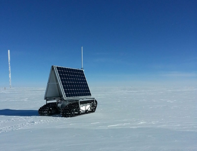 GROVER the NASA rover takes on Greenland ice sheet