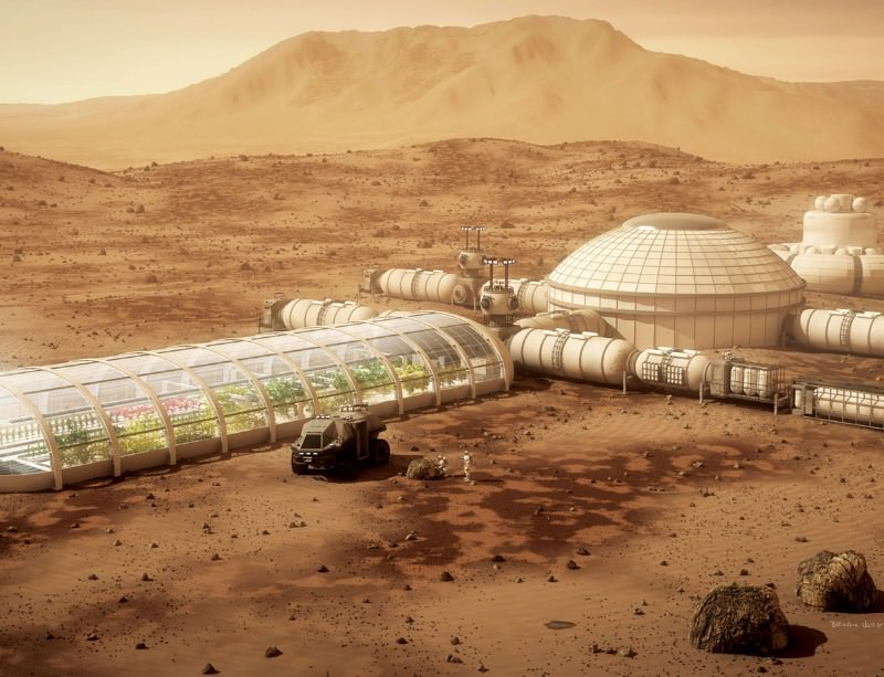 GM crops might make Mars green