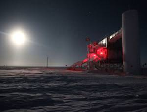 Space neutrinos found in Antarctica
