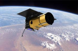 How Arkyd 100 will look in orbit