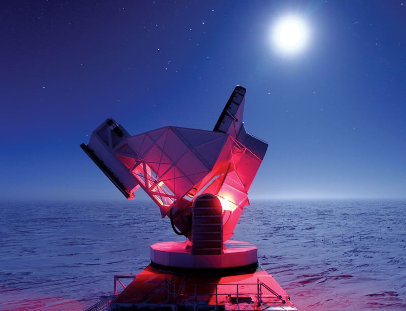 Braving the extremes is all in a day's work at the South Pole Telescope