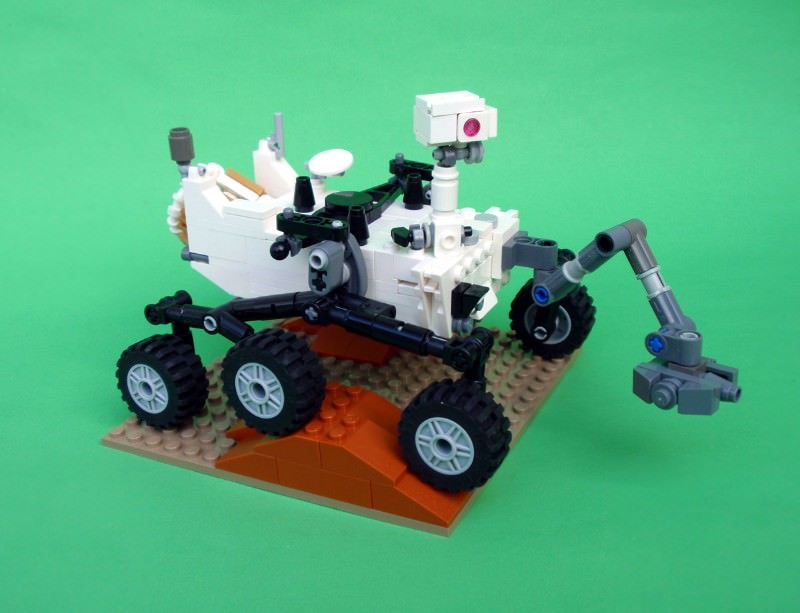 Mars fans vote to immortalise Curiosity rover in Lego