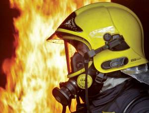 Head-mounted sensors and cameras will let firefighters see what they are facing