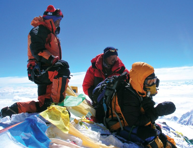 Insights gained at the top of Everest could one day save your life