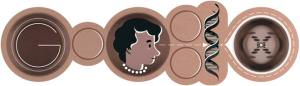 Google doodles a science heroine