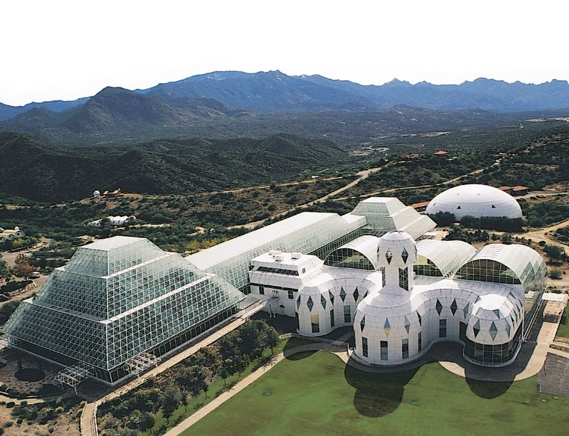 Biosphere 2: a dry run for living on other planets?