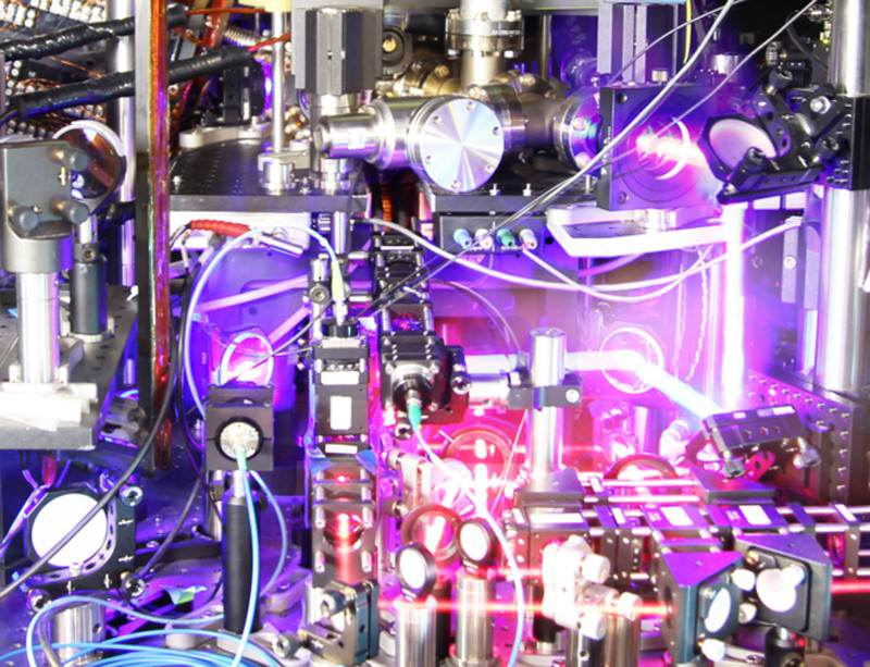 Is the ultimate timepiece now also the ultimate electron simulator?