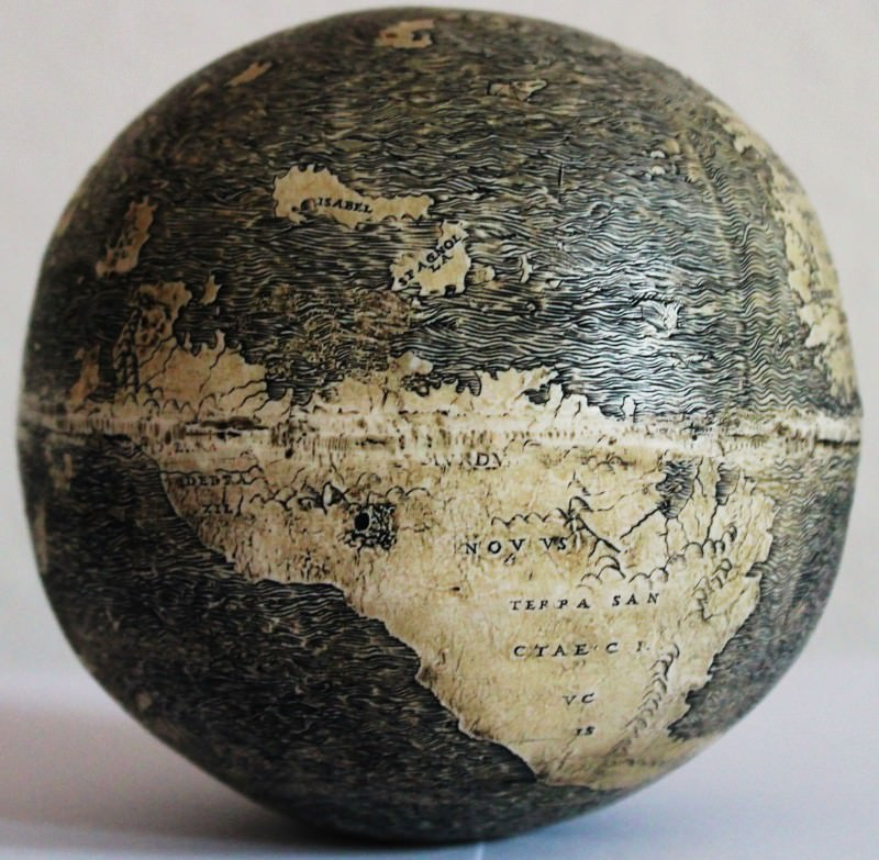 Carved ostrich egg is oldest depiction of the New World