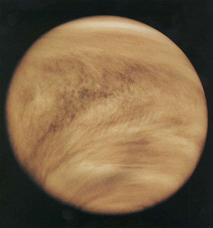 Venus forecast: cloudy, very cloudy