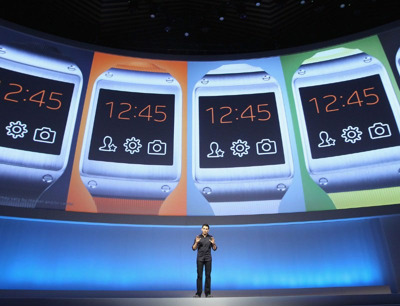 The Galaxy Gear is here