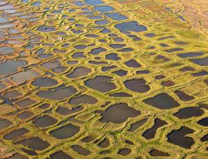 Permafrost: slowly melting