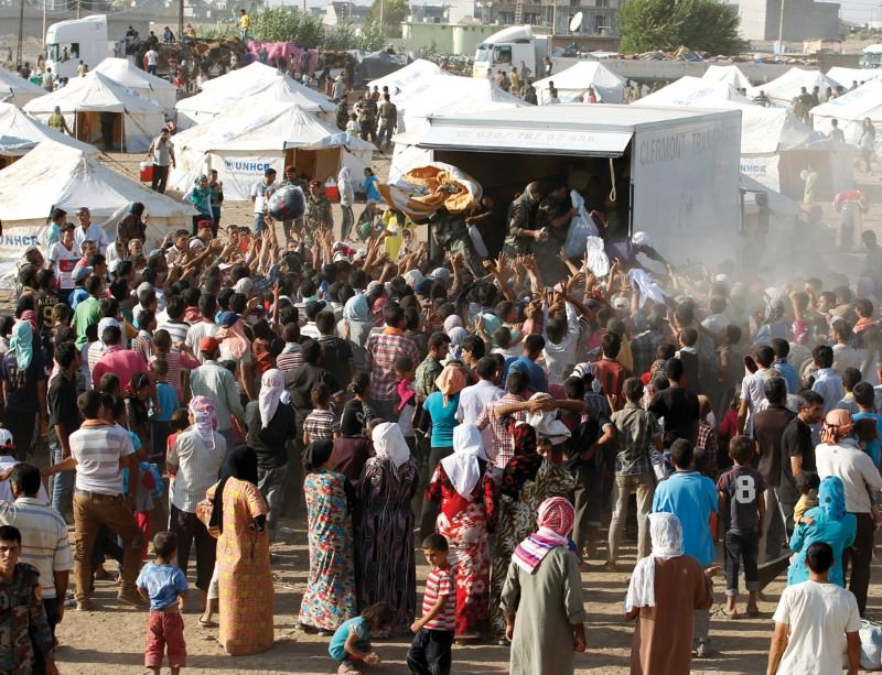 Relying on handouts in camps can affect refugees' psychological well-being