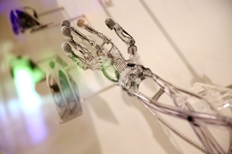 'Terminator arm' churned out of 3D printer