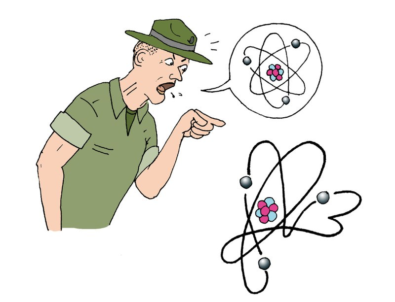Feedback: Well-trained electrons