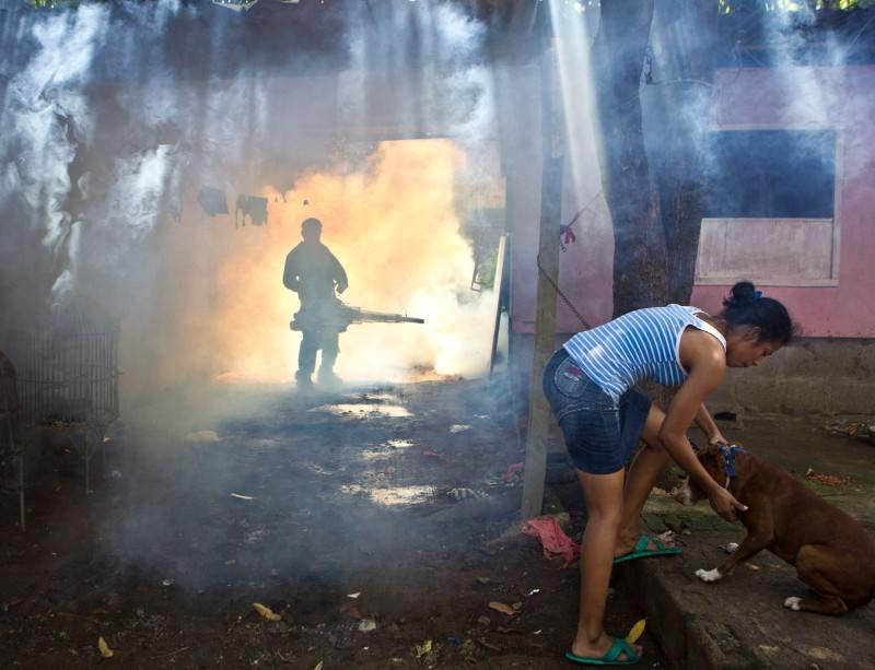 Toxic fog fills Nicaraguan streets to battle disease