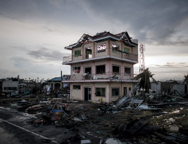 Typhoon Haiyan has caused catastrophic damage
