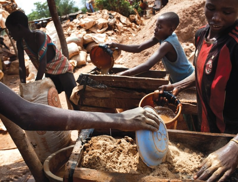 Gold mining poisoned thousands