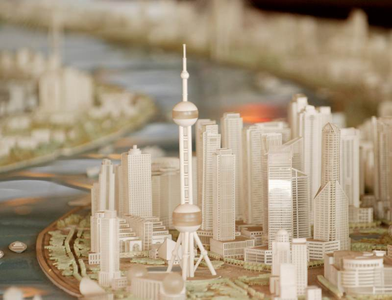 This vision of Shanghai in 2020 obeys the same basic rules as the first cities, 10,000 years ago