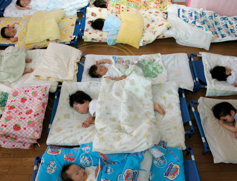 Falling birth rates have put Japan's fertility at 1.4 children per woman