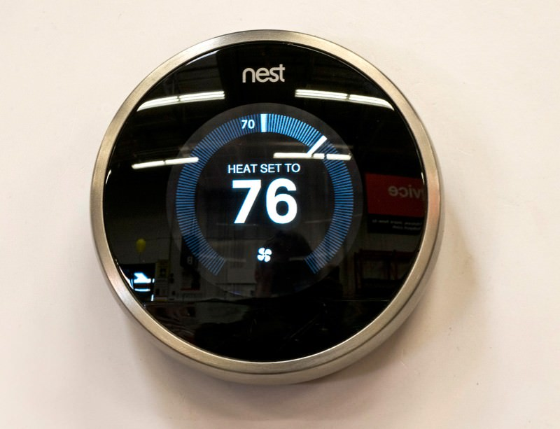 The Nest smart-thermostat system is hot property