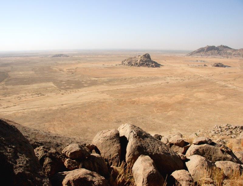 100,000 years ago, this was a massive lake