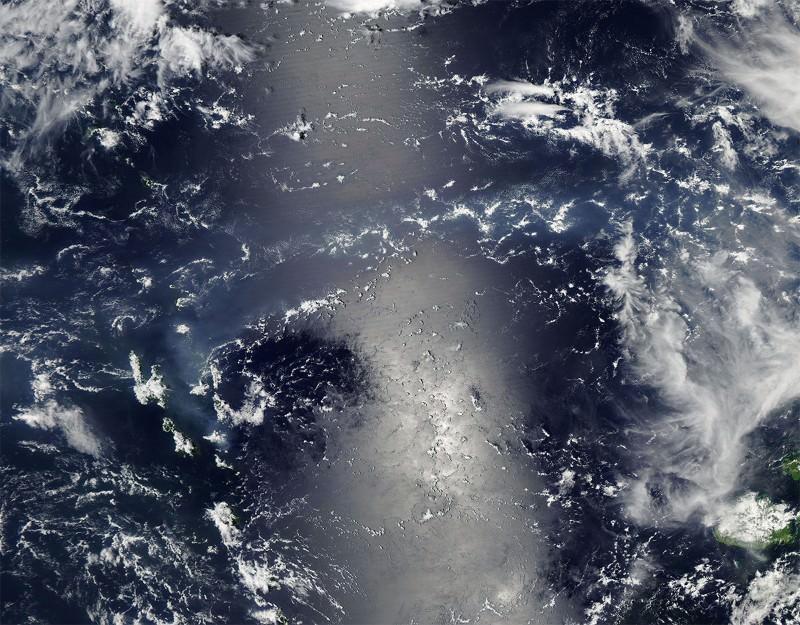 There's a vog on Vanuatu
