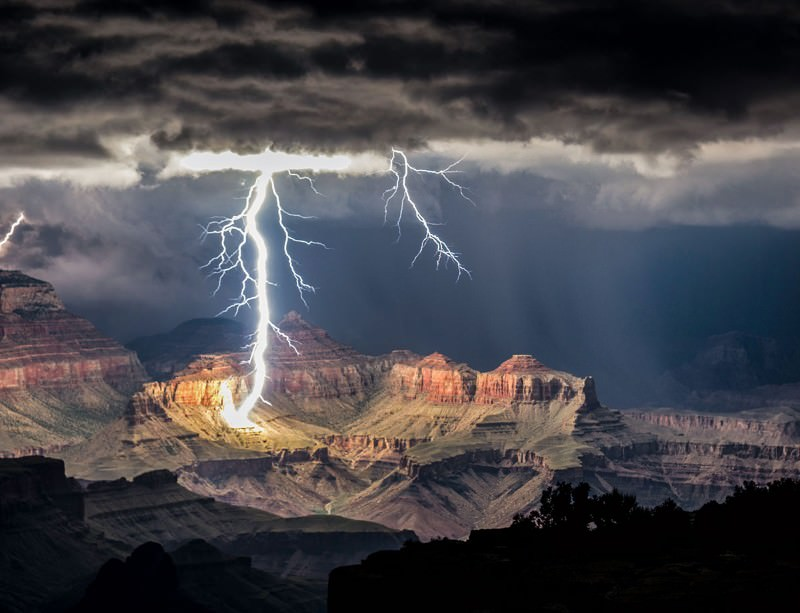 Six million years is enough time for a lot of lightning storms