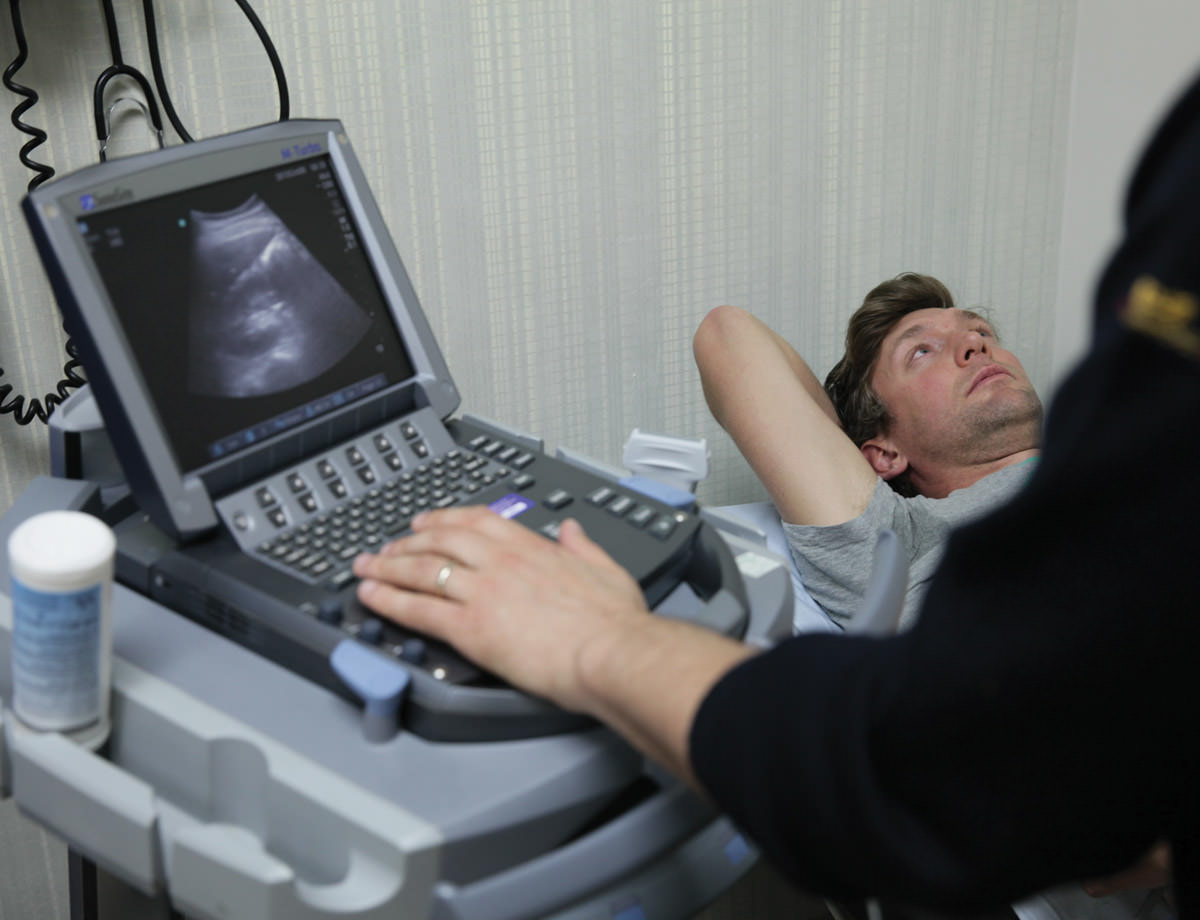 "Ultrasound scans measured how ""fatty"" our livers were"