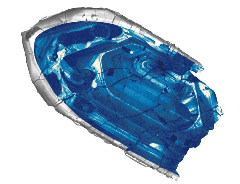 Sparkling blue gem reveals origins of Earth's crust