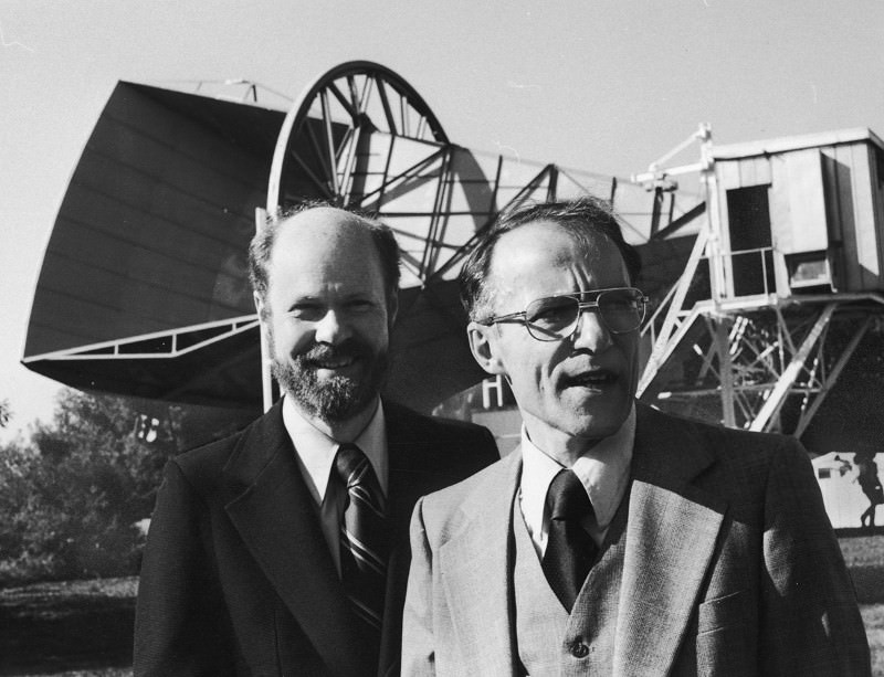 Robert Wilson, Arno Penzias and that big antenna