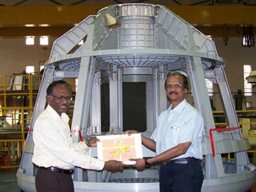 India unveils its first home-grown astronaut capsule