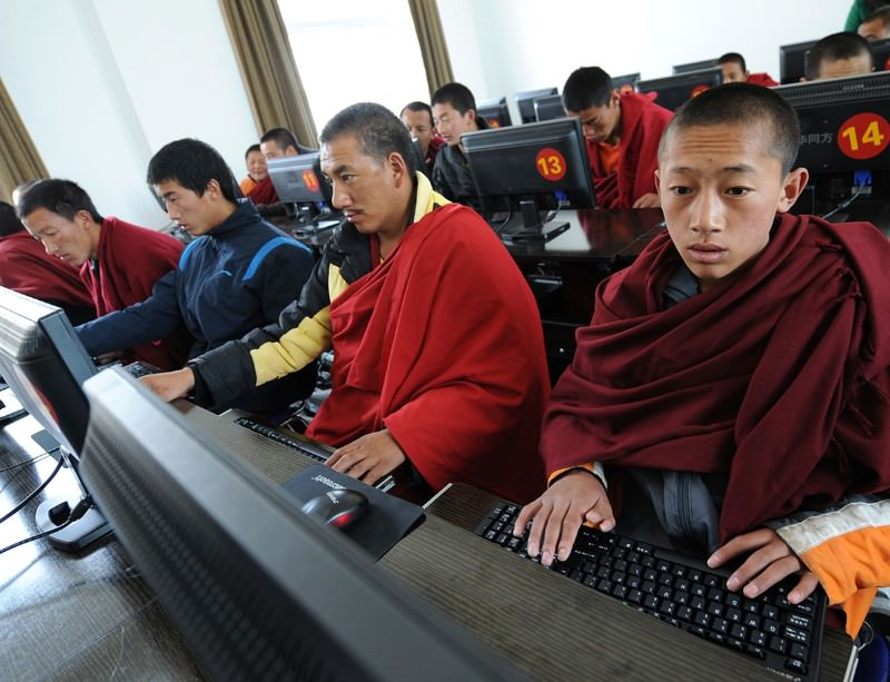 Chinese state censors have been known to remove postings from Tibet