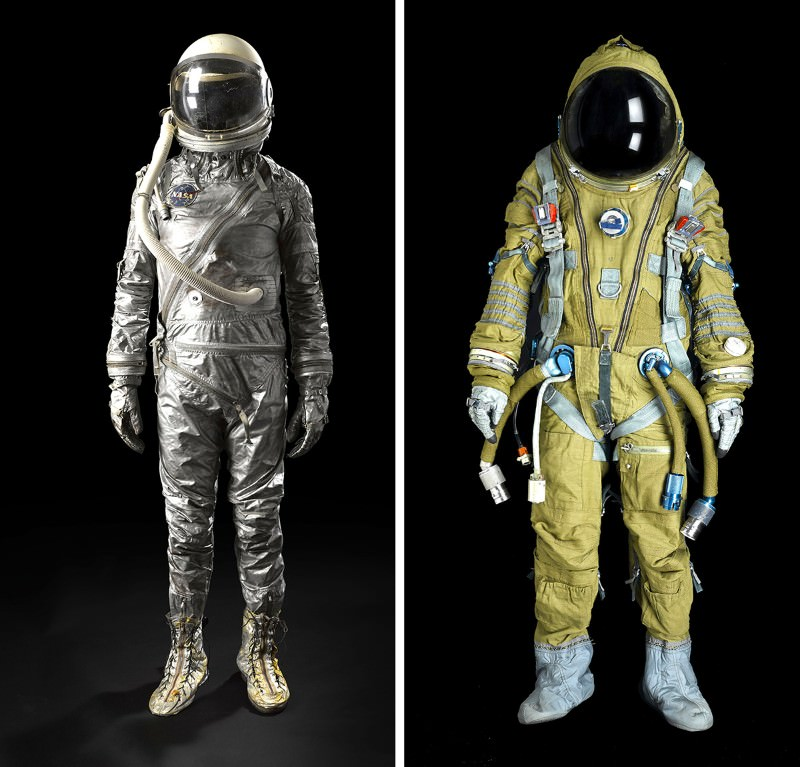 US glam or Soviet grunge? Vintage spacesuits on sale | New ...