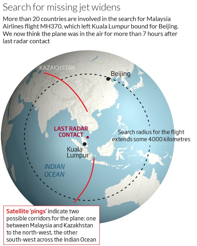 Missing Malaysian jet can be found, even in deep ocean