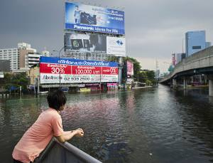 Floods in Bangkok in November 2011. What will the future climate bring to Thailand?