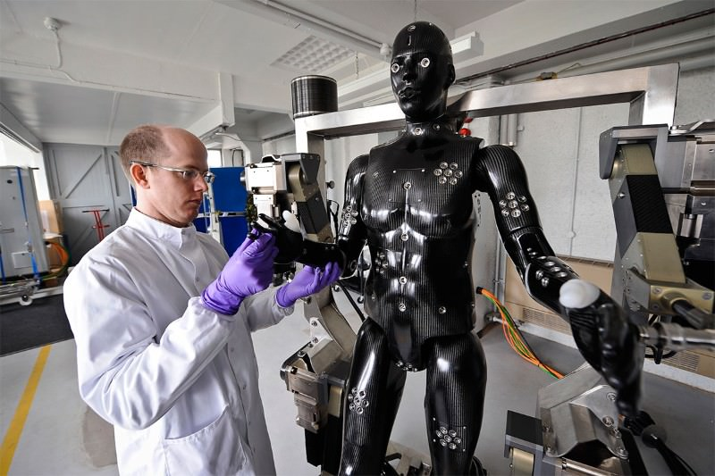 Robot soldier could help save human comrades' lives