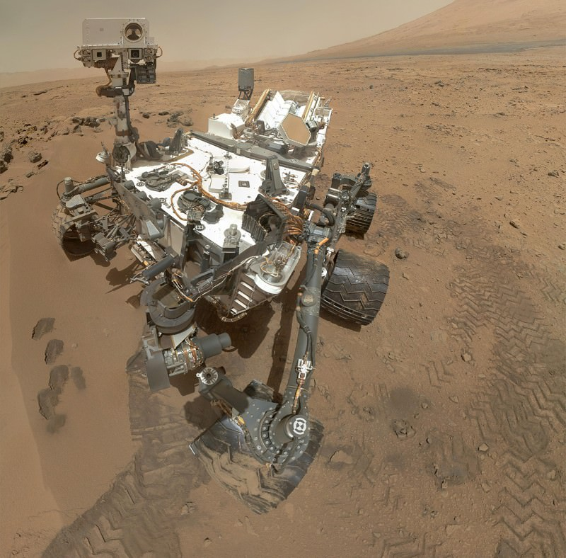 NASA's Curiosity rover carries a Russian instrument