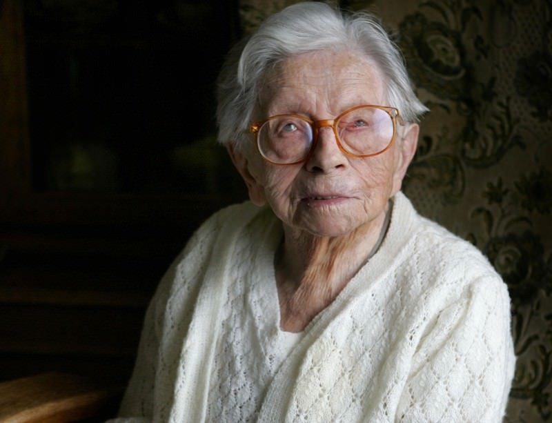 Hendrikje van Andel-Schipper reached the ripe old age of 115