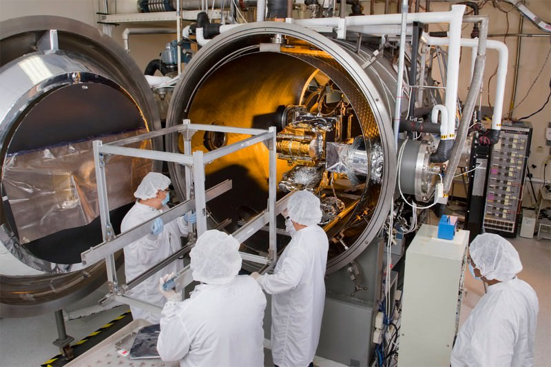 Fresh-baked satellite will soon be our eye on Earth