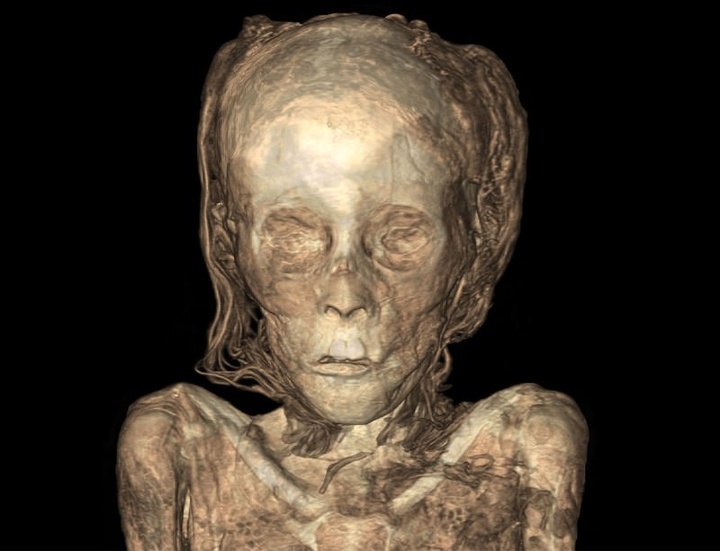 This mummy was on the lookout for a husband
