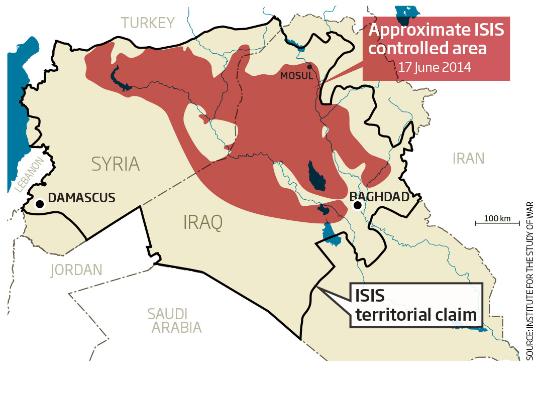 Colonial borders not the problem in Syria-Iraq crisis