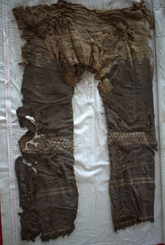 These 3000-year-old Chinese trousers wouldn't look too out of place on a high street, or a teenybopper